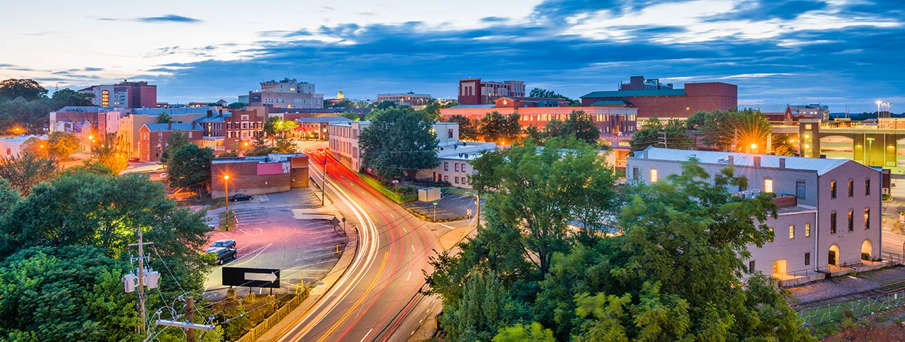 timelapse photo of downtown athens